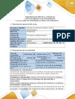 Guía de actividades  y Rubrica de evaluación  Fase 1- Contextualización Histórica y Génesis del Conflicto en Colombia. (1)