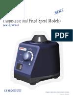 MX S Vortex Mixer