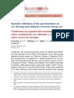Validación en español del cuestionario....pdf