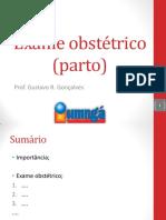 Exame Obstétrico Do Parto