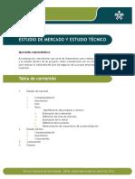 Estudio de Mercado y Estudio Técnico