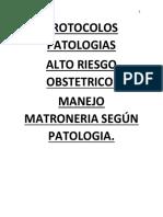 PROTOCOLOS PATOLOGIAS