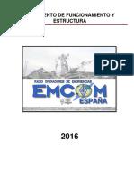 Reglamento Emcom España