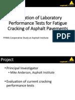 Blakenship_Evaluation of Laboratory Performance Tests for Fatigue Cracking of Asphalt Pavements