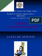 Clase 11 Dinámica Leyes de Newton