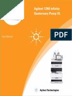 1260 Infinity Quaternary Pump Vl User Manual