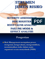 8.Tools Manajemen Risiko Baru