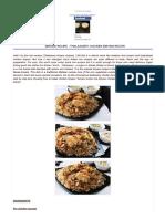 Biryani Recipe - Thalassery Chicken Biryani Recipe