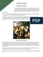 The Myth of Adonis