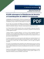 Nota de prensa 24 reapertura GRACO cbba  Rev (1).docx