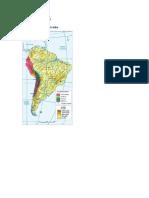 Mapa Del Tawantinsuyu