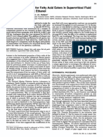 Cofeiciente Particion Para Esteres de Acidos Grasos Nilsson1992