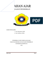 Buku Filsafat Pendidikan
