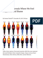 Body Atlas Reveals Where We Feel Happiness and Shame - D-brief