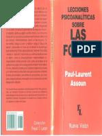 LECCIONES PSICOANALÌTICAS SOBRE LAS FOBIAS - Paul-Laurent Assoun - (2000) (1).pdf