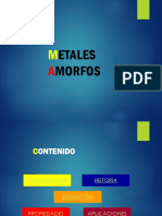 METALES AMORFOS