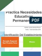 Práctica Necesidades Educativas Permanentes Listo Listo