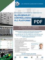 EIT Course Allen Bradley Controllogix 5000 PLC Platforms CAL Brochure