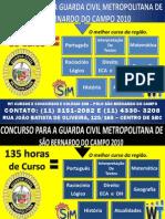 Concurso para Guarda Civil Metropolitana de São Bernardo do Campo 2010