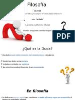 la DUDA en la filosofia.pptx