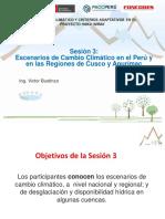 Escenarios de Cambios Climáticos en el Perú