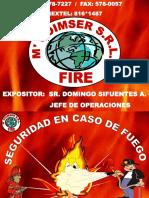 Charla Seguridad en Caso de Fuego