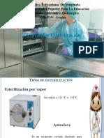 Diapositivas de Esterilizacion
