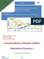 Clase 3 2016 Economia Minera - Dinero e Interes