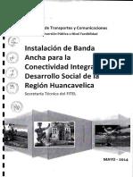 Estudio de Factibilidad Viabilizado Huancavelica
