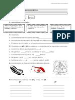 Guia Grupo de Consonanticos Segundos Basicos PL PR