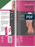 Netter Anatomia - Fichas de Autoevaluación - Cabeza y Cuello