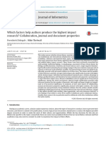 Artigo 1 - Which Factors Help Authors Produce the Highest Impact Research...