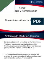 Semana 2 Sistema Internacional de Medidas