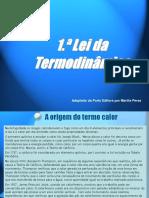 1.ª Lei da Termodinâmica.ppt