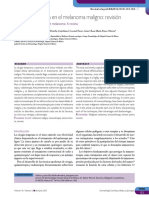 inmunoterapia para melanoma
