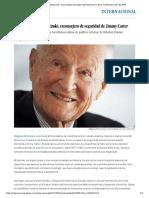 Muere Zbigniew Brzezinski, Exconsejero de Seguridad de Jimmy Carter _ Internacional _ EL PAÍS