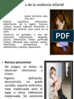 Características de La Violencia Infantil