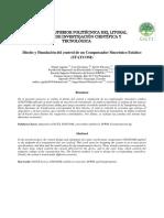 Diseño y Simulación Del Control de Un Compensador Sincrónico Estático_FIEC