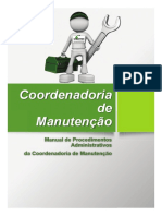 Manual Manutenção