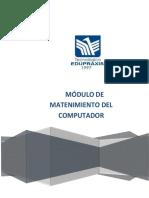 Modulo Mantenimiento Del Computador - Edupraxis