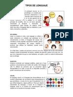 Tipos de Comunicacion y Lenguajes