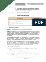 10 TDR Lapiceros