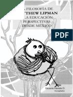 6823-Harada, Eduardo (Comp.) - La Filosofía de Matthew Lipman y La Educación
