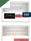 1.- Curso de Seguridad Industrial y Minera Parte