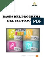 Bases Culto Joven 2017