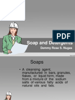 Soap and Detergents