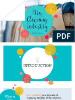 Dry Cleaning Report