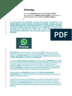 Definición de WhatsApp