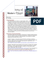 A History of Modern Egypt
