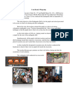 Earthquake Drill Science Newsletter
